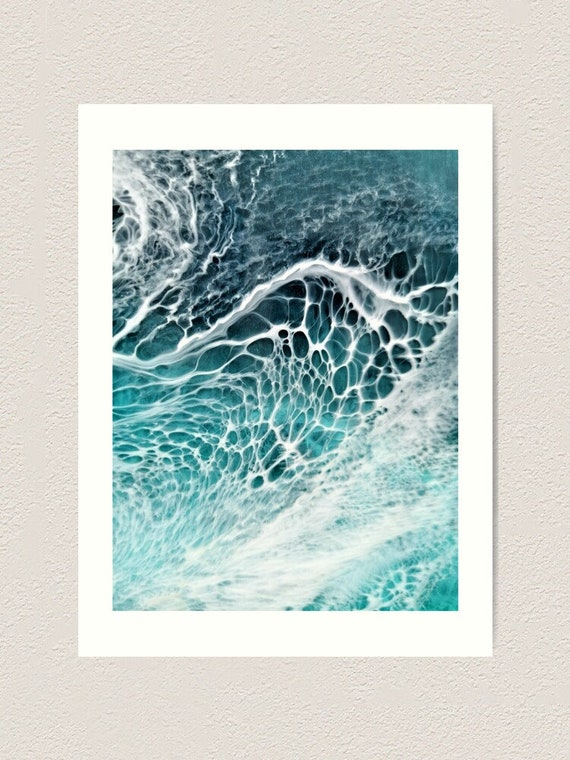 Resin Art Art Print Fluid Art Home Decor Home Design Etsy
