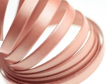 /Ø 1mm antik-pink Auroris 5m Rolle Lederband rund