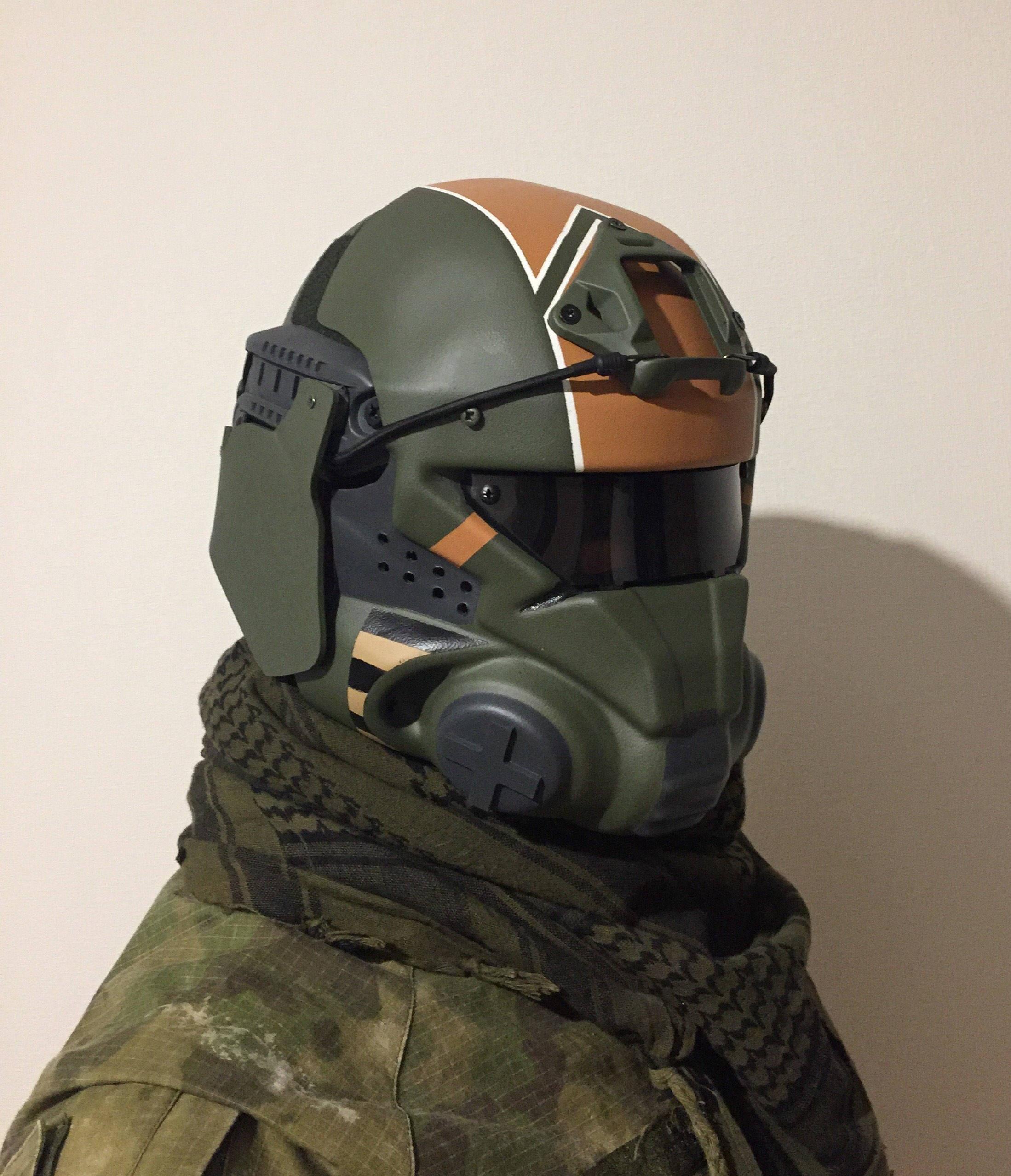 Titanfall Militia airsoft pilot helmet/mask   Etsy