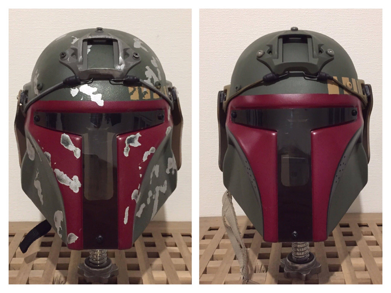 Boba Fett Airsoft/Paintball Helm