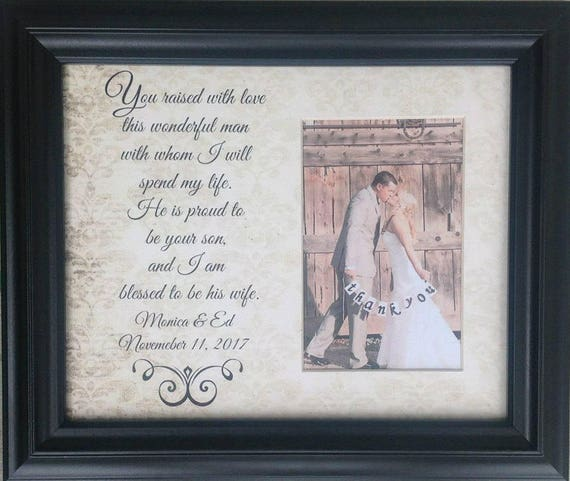 Mother Of The Groom Gift Mother Of Groom Picture Frame In Etsy