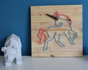 String Art Unicorn / Unicorn String Art