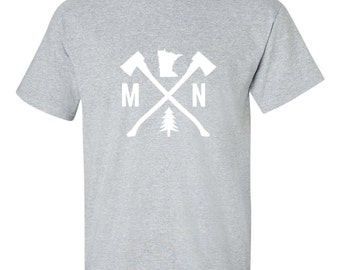 Minnesota Tee Shirt | Minnesota Shirt | Minnesota Tee | Minnesota Gift | Men's Minnesota Shirt | Guy's Minnesota Shirt