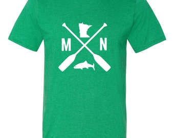 Minnesota Tee Shirt | Minnesota Fishing Shirt | Minnesota Shirt | Minnesota Tee | Minnesota Gift | Men's Minnesota Shirt