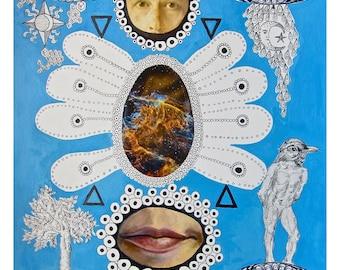 Atomic Cosmos // A2 Giclee Print