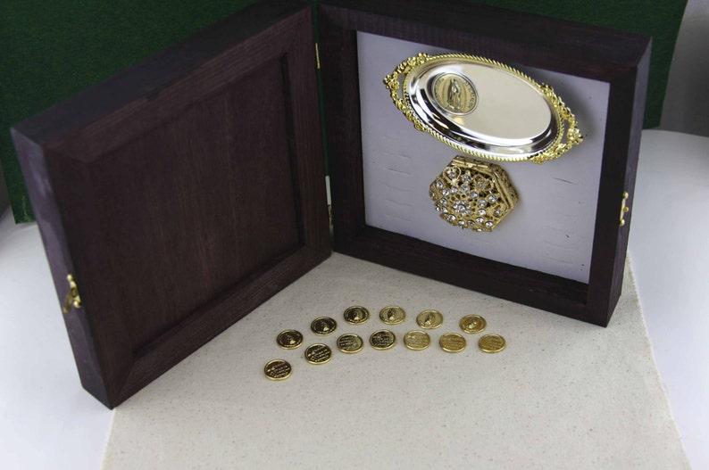 Wedding Arras Elegant Wedding Coins Gold-filled Wedding  d89d95b79e6d1