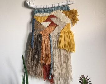 Woven wall hanging - Desert Days