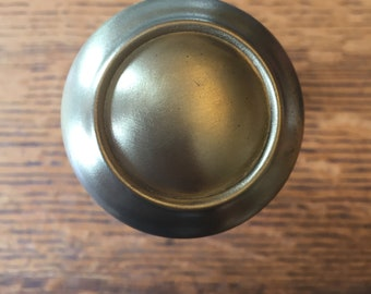 Antique brass door knob