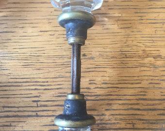 Antique glass door knob