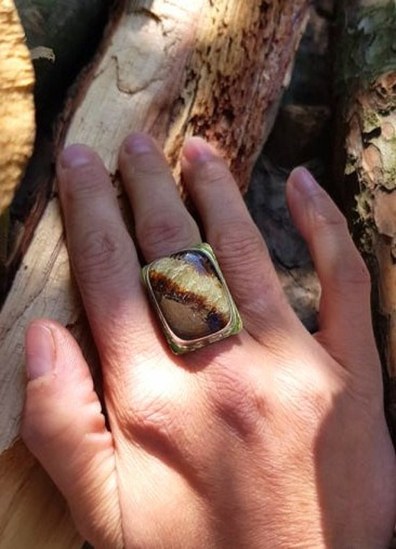 Septaria ring to free itself from old blockages and regain confidence