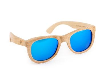 eb78d35adf Checkered Flag Wooden Sunglasses