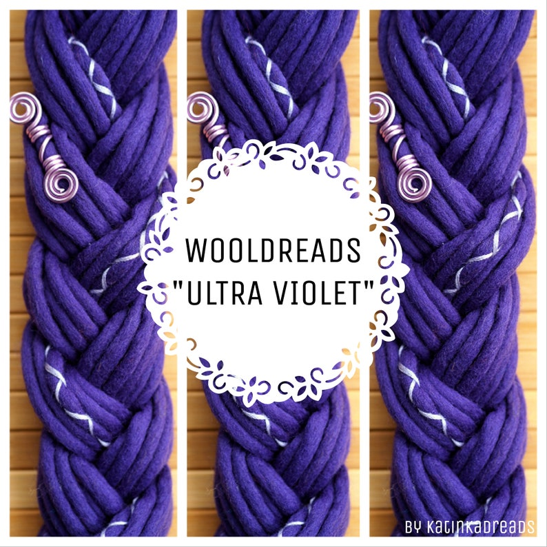 Wolldreads Ultra Violet