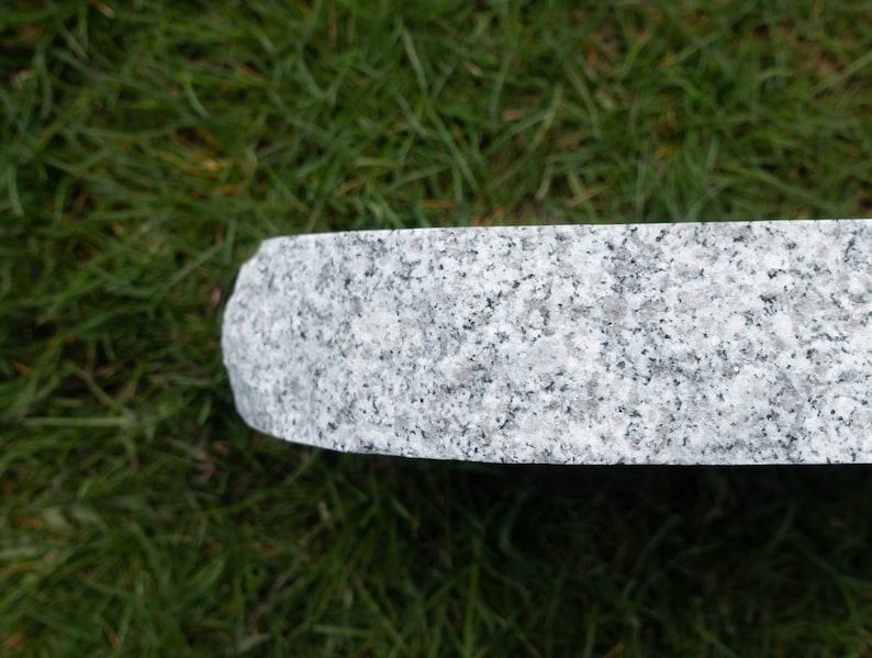 12 x 8 Granite Oval Pet Memorial Stone Free Shipping