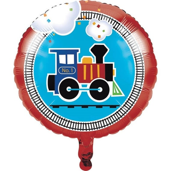 All Aboard Train Birthday Party Supplies Blowouts