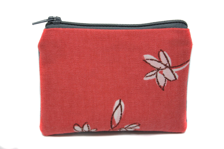 Porte monnaie femme en tissu fleuri cadeau f te des m res etsy - Porte monnaie en tissu ...