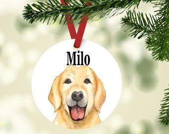 personalized dog ornament custom christmas pet ornament holiday pet gift for dog lover dog gift dog adoption gift personalized pet gift