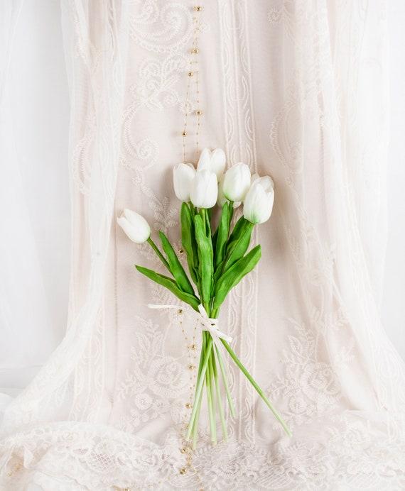 künstliche rose blumenköpfe hochzeit wirklich berühren schön florale fake