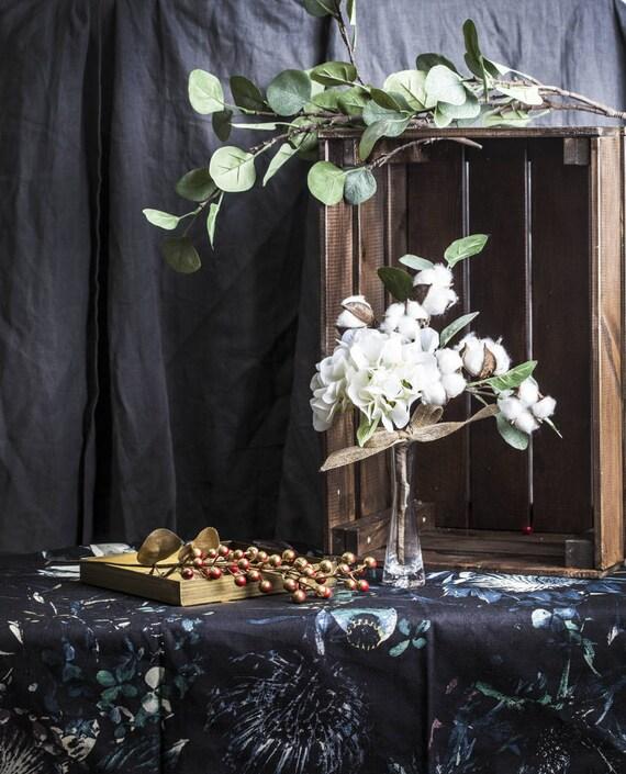 Bouquet Blanc Neige Pour Noel Et Dhiver Decoration Fleurs Etsy
