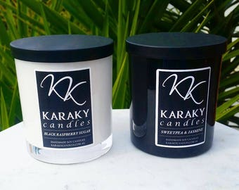 KaraKy Candles - Large Soy Candle - 60 hours burn