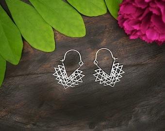 NAHIMANA Sterling Silver 925 Earrings