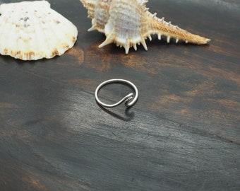 WAVE Sterling Silver 925 Ring