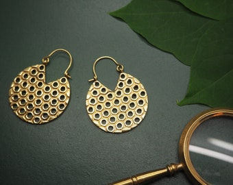 MARALAH Tribal Brass Earrings