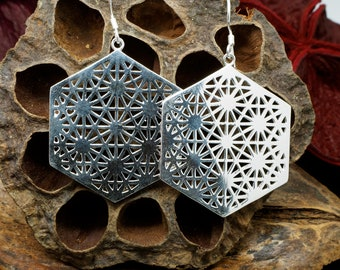 GEOMETRIC Silver Plated Earrings