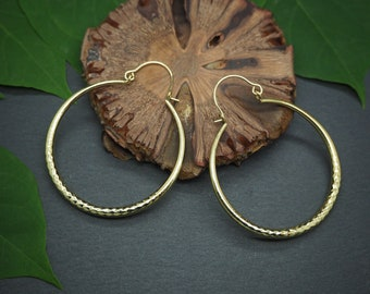 WINEMA Tribal Brass Earrings