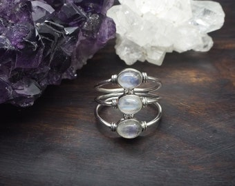 DOLI Moonstone Sterling Silver 925 Ring