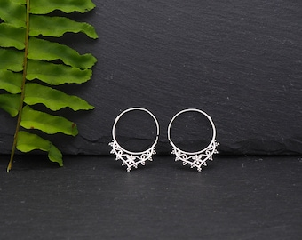 KANTI Silver Plated Earrings