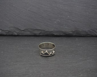 Mountain Sterling Silver 925 Ring