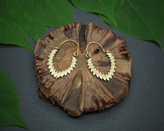 INOLA Tribal Brass Earrings
