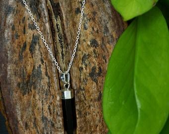 SATINKA Black Onyx Sterling Silver 925 Pendant