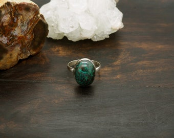 KAYA Azurit Malachit Sterling Silver 925 Ring