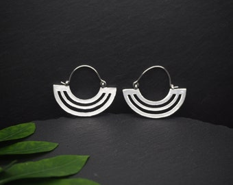 HURIT Silver Plated Earrings