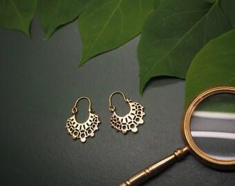 LITONYA Tribal Brass Earrings
