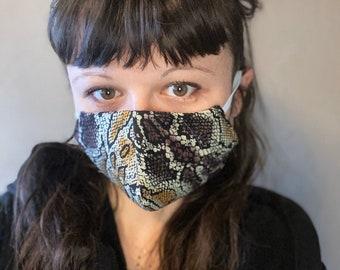 Mund Nasen Mask Snake