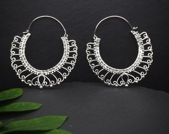 LOMASI Silver Plated Earrings