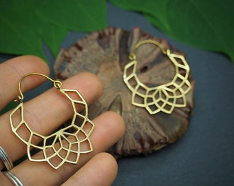 YANABA Tribal Brass Earrings