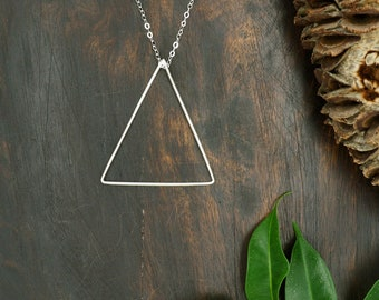 The MINIMALIST  XLarge Sterling Silver 925 Pendant