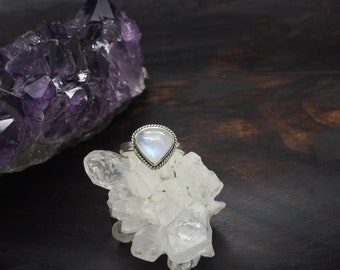 KIMI Moonstone Sterling Silver 925 Ring