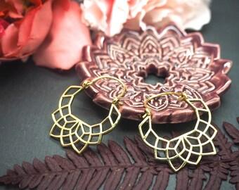 NAMID Brass Earrings