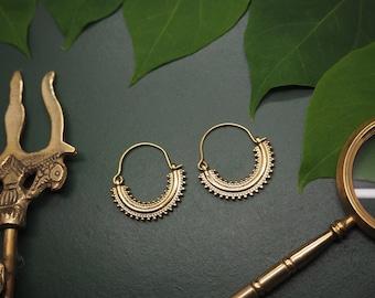 KIMI Tribal Brass Earrings