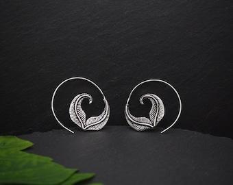 SAPATA Silver Plated Earrings