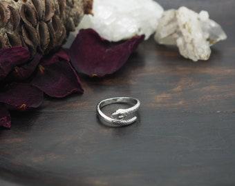 SNAKE Sterling Silver 925 Ring