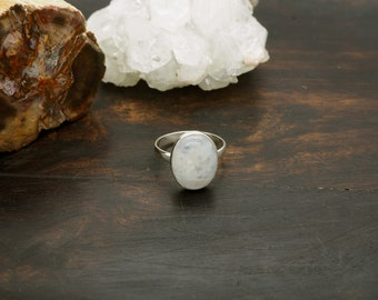 KAYA Moonstone Sterling Silver 925 Ring