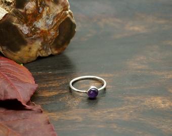 SANI Amethyst Sterling Silver 925 Ring