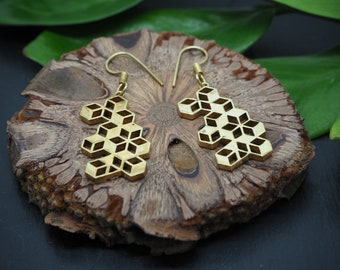 ADSILA Brass Earrings