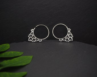 WAKI Silver Plated Earrings