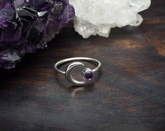 JACI Amethyst Sterling Silver 925 Ring